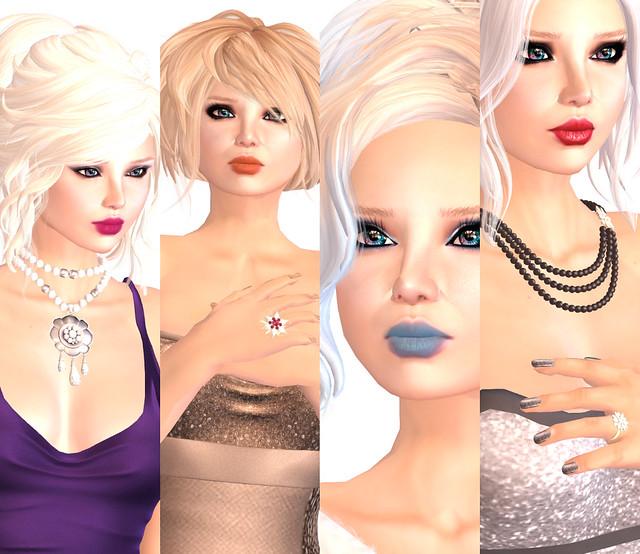 NYE Looks Closeups