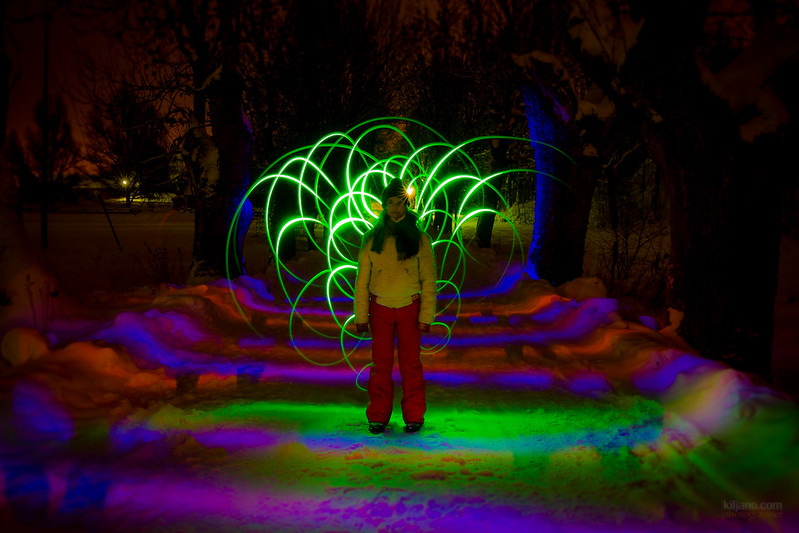 Painting with lights