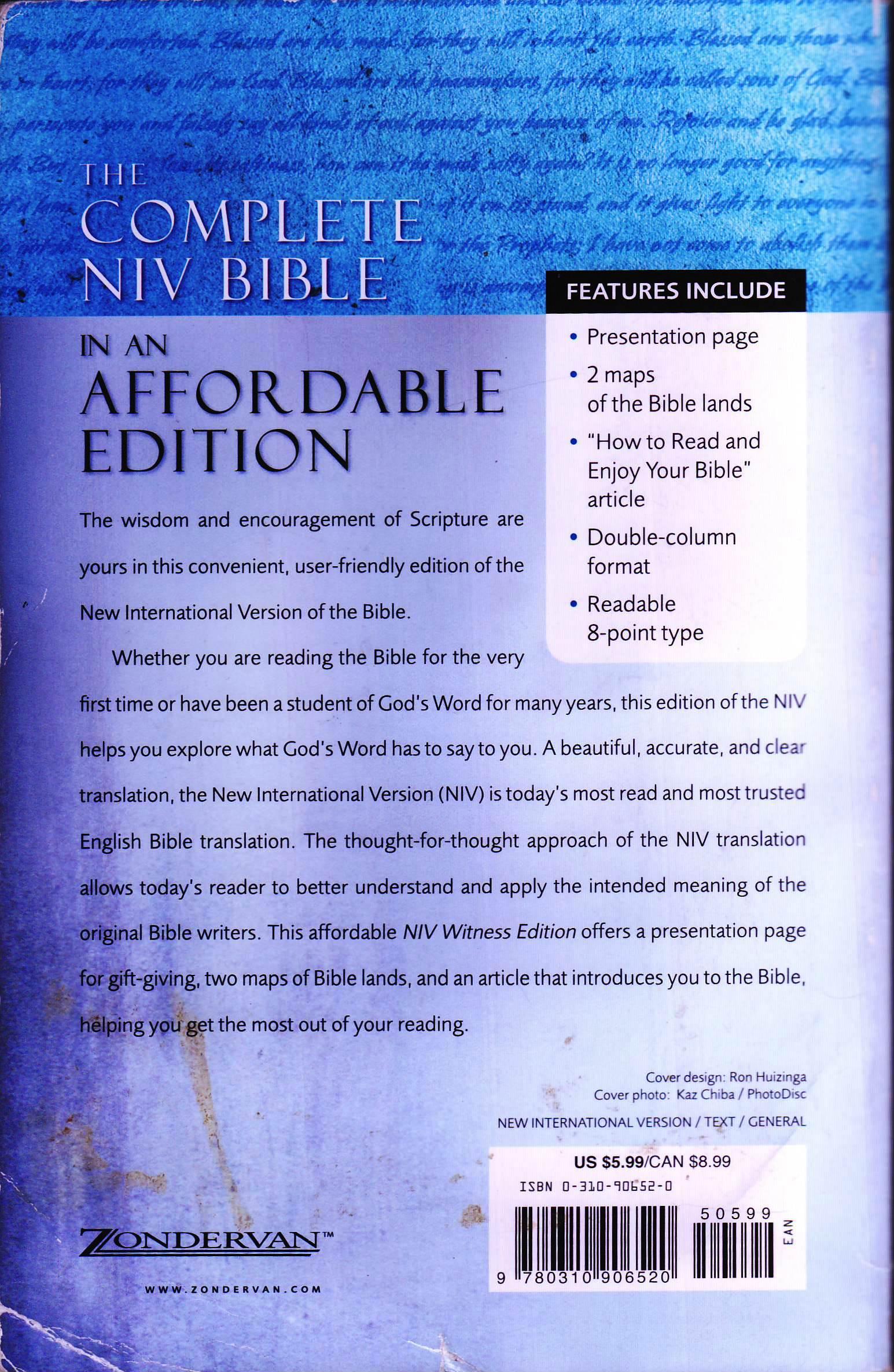 New International Version Niv Internet Bible Catalog