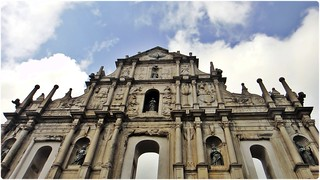 Ruins of St Pauls