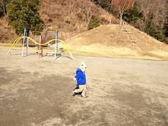 公園にて 2013/1/2