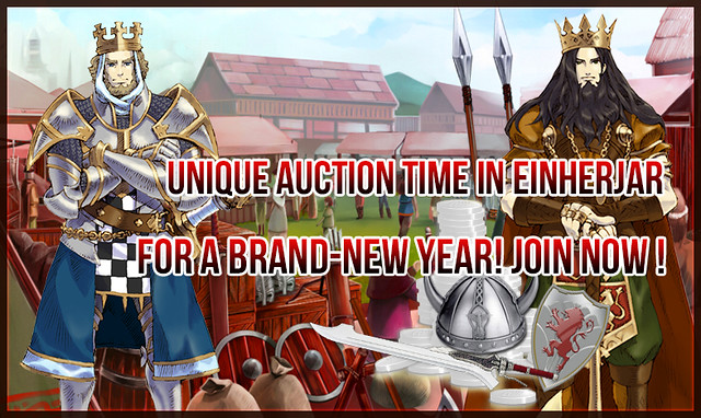 New Year Auction in Einherjar