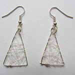 Woven earrings
