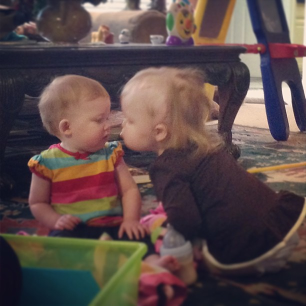 #sistersarethebestmedicine #smooch #reesey #millerpaige