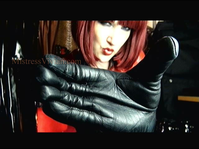 Mistress Vivian In Black Leather Gloves - A Photo On Flickriver-7095