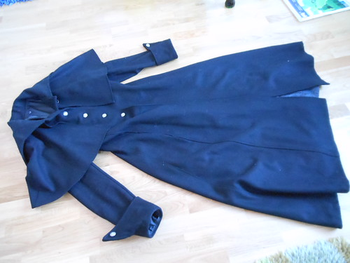 Aristocrat coat, varm and great quality and I got it for just 180 euros at a streetmarket