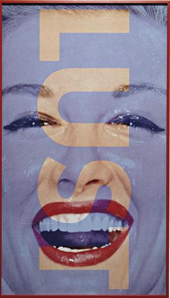 Barbara Kruger, Ohne Titel - Lust, 2001 350x