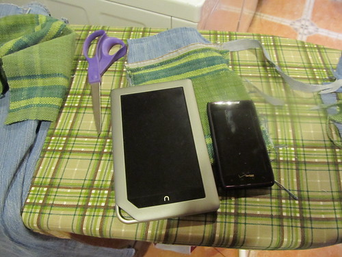 Nook cover: stage two