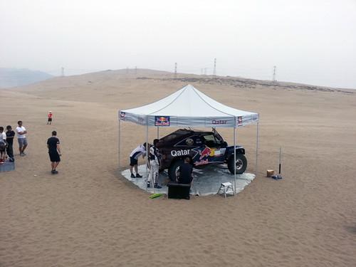 Test previo al Dakar 2013