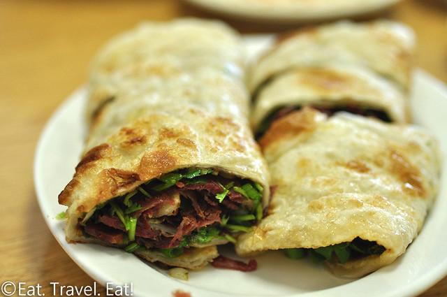 Flavor Garden- Alhambra, CA: Spicy Beef Roll Cake