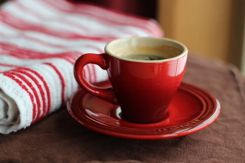Red Espresso Cup by Pennsylvania Terroir