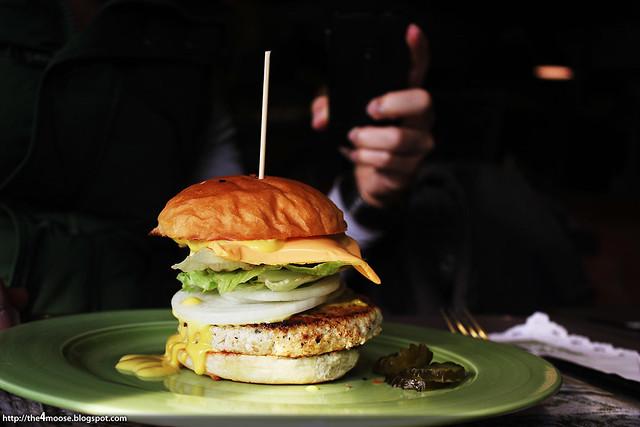 Cafe Moriah - Tofu Burger