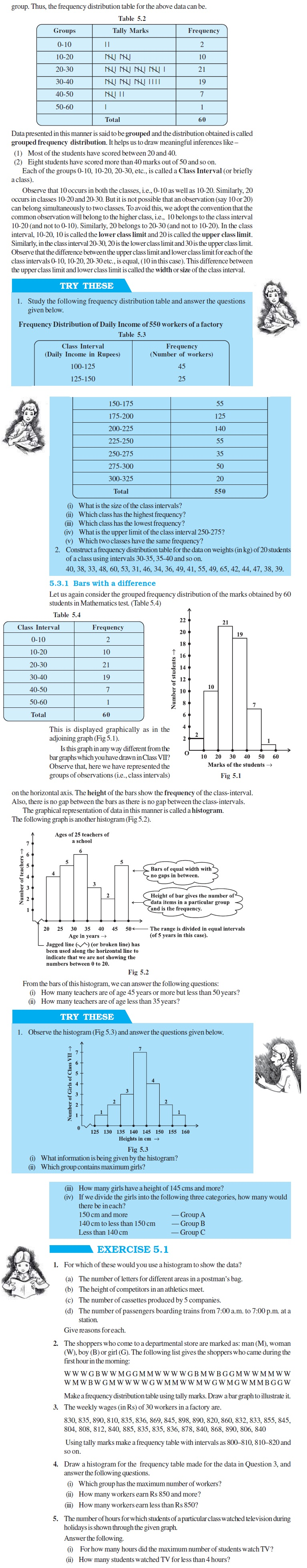 NCERT Class VIII Maths Chapter 5 Data Handling