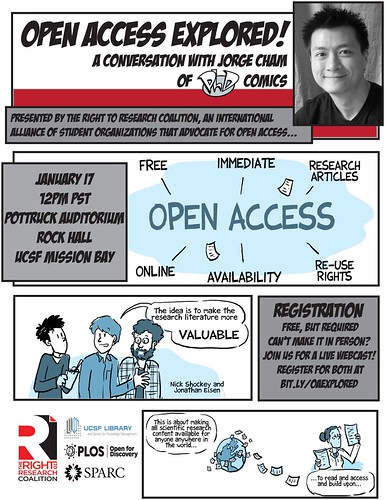 Open Access Explored! A Conversation with Jorge Cham of PhD Comics