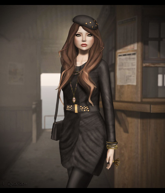 Glam Affiar- Renee - Trending 03 D for Collabor88 & ::Exile:: I Will Wait:Cashmere for FaMESHed