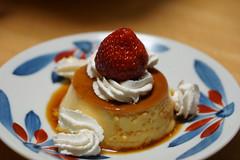 手作りプリン homemade pudding