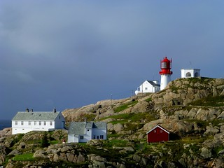 Lindesnes lighthouse,  Norway's southernmost tip