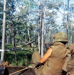 G Troop, May 3,1970, crossing the border to Snoul