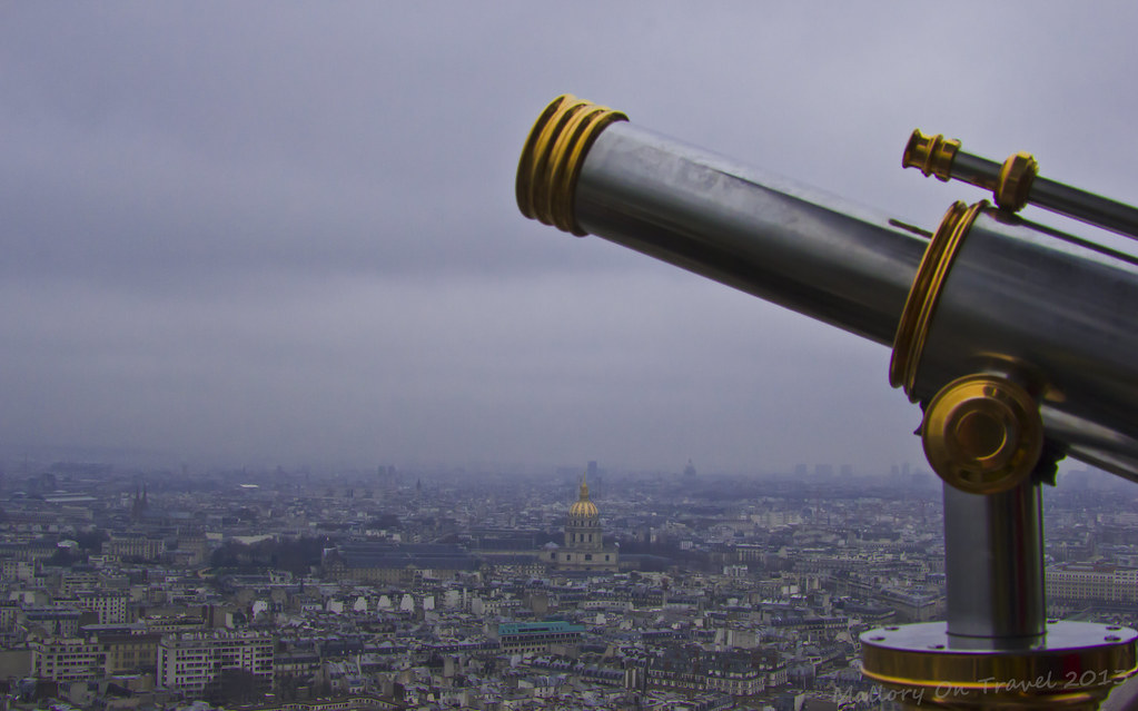 View of Paris from the Eiffel Tower near the River Seine, France on Mallory on Travel, adventure, photography Iain Mallory-300-4