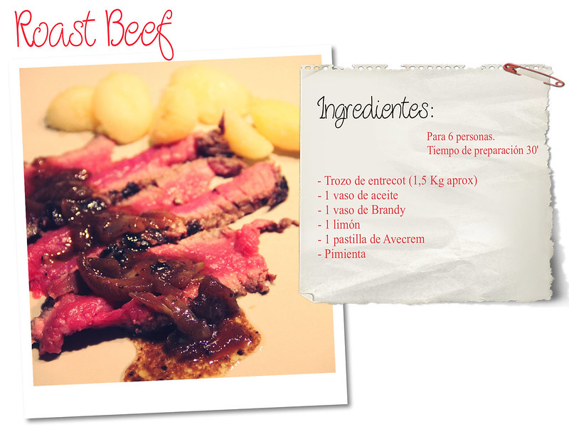 Receta: Roast Beef