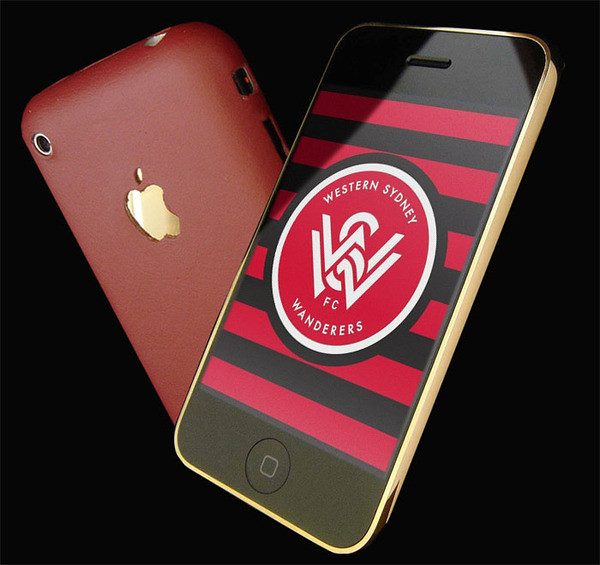 1st Preview Of Western Sydney Wanderers Fc Iphone Wallpape