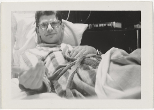 Cat. 124 Allen Ginsberg, 1955