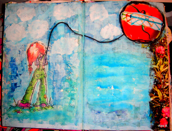 7 cielo my art journal pages january 029