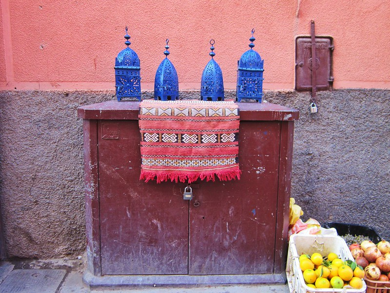 A Wander Through the Souks of Marrakech
