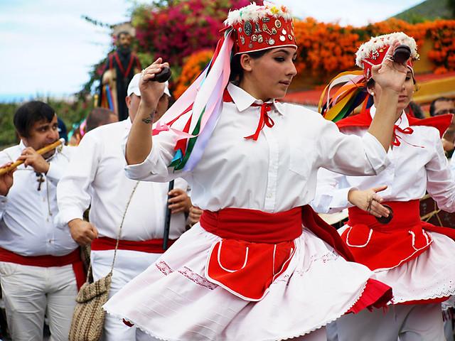 El Hierro Dancers, San Abad, Buenavista del Norte,