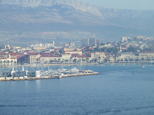 Croatia - Split - Entering The Harbour