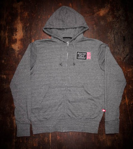 ACL Live Zip Up Hoodie - Gray By Sportiqe