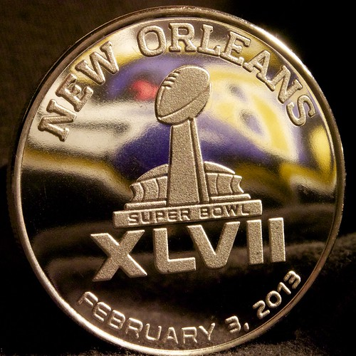 Baltimore Ravens in Super Bowl XLVII - New Orleans