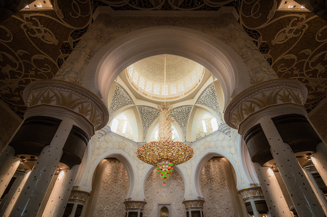 La espectacular Mezquita Sheikh Zayed en Abu Dabi 8426959174_bb2635f88a_z