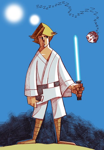 Star Wars - Luke by JAM-WAH
