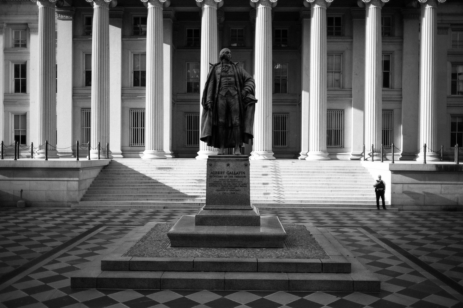"Image titled ""Albert Gallatin, Department of Treasury."""