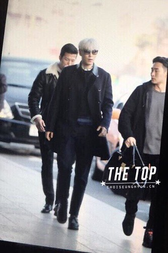Big Bang - Gimpo Airport - 15jan2015 - TOP - The TOP - 03