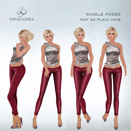 ORQUIDEA poses - Not so plain Jane - SecondLifeHub.com
