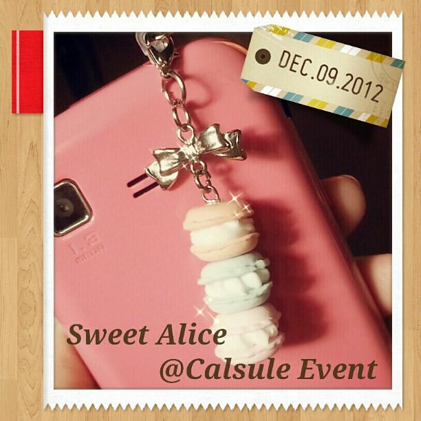 น่ารักอ๊า~~~~~~~ //พรุ่งนี้พบกับ Sweet Alice : Afternoon Tea ได้ที่งาน Capsule Event ชั้น11 อาคารจอดรถ รพ. เซนต์หลุยส์ ค่า~~ \^o^/