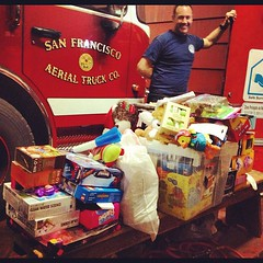 Results from @sfbikeparty & @sfyellowbike toy drive!