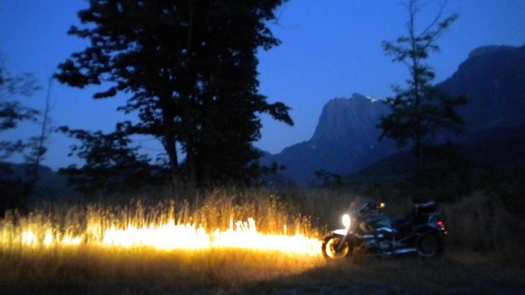 Grass Fire.