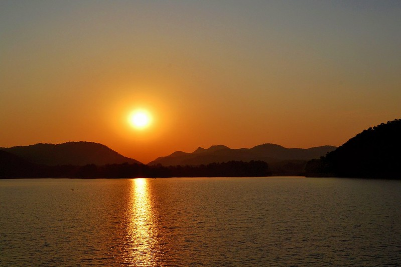 Sunset at Murguma Lake