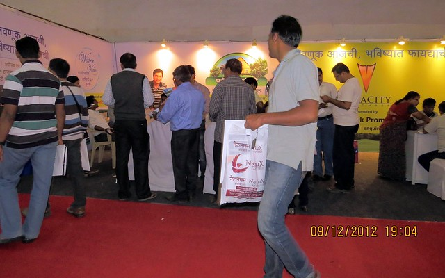 Pune Property Exhibition - Sakal Vastu - Property Expo - December 2012 - 10