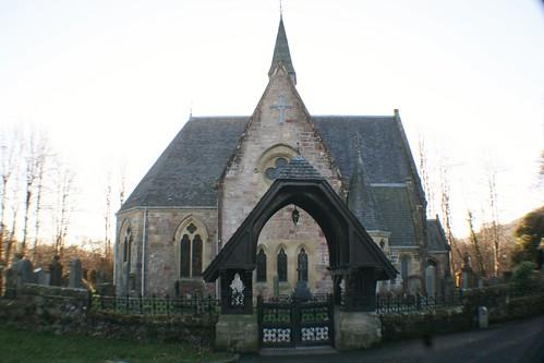 Luss Church, Scotland