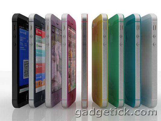 iPhone 5S получил разноцветный корпус
