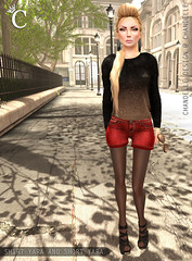 CHANDELLE - Shirt and Short Yara MESH - 3