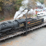 Western Maryland Steam Locomotive, Frostburg, MD