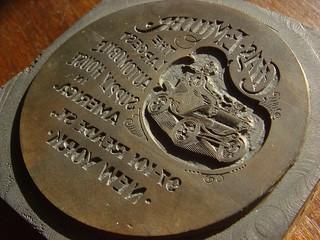 Chas. E. Miller letterpress block engraving