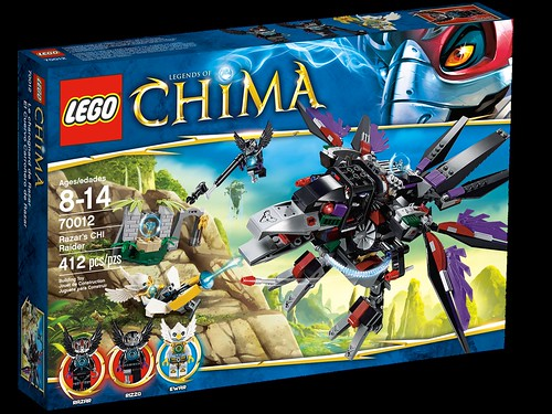 legends of chima - 700012 Razar's Chi Raider