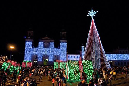 Bolivar Square Illumination - Bogotá