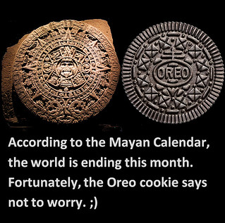 Aztec Calendar vs Oreo Cookie